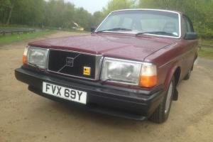 1982 Volvo 240 DL 31000 miles from new taxed and tested (movie car)