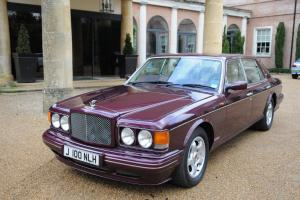1997 Bentley Turbo RT in Wildberry with cream Leather Interior Photo