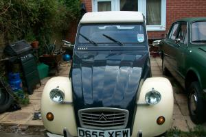 "CITROEN 2CV DOLLY VERY RARE ""BLUEBERRIES AND CREAM"""
