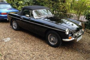 1976 R MG B MGB 1.8 Twin SU Carbs Sports Roadster Manual Over/Drive Photo