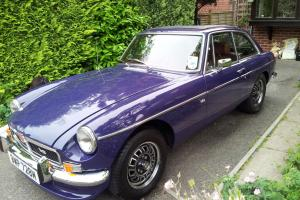 MGB GT V8 1974 Genuine Factory V8 ( Now to be Tax Exempt ) Buy It Now £12250 Photo