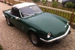 1975 TRIUMPH SPITFIRE 1500 BRITISH RACING GREEN Photo