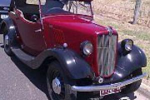 1938 Morris 8 40 Roadstar CAR Series 2 Melb Location in Altona, VIC