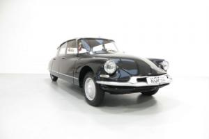 A Very Early Citroën DS ID19 with Just 36,933 Miles and Three Owners from New