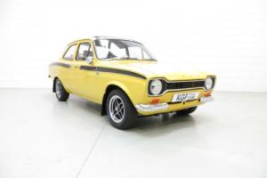 A Genuine AVO Mk1 Ford Escort RS Mexico in Award Winning Condition