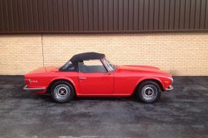 TRIUMPH TR6 150 BHP UK CAR