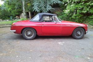MGB Roadster Chrome Leather Interior