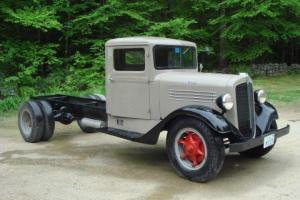 1936 Antique Stewart Cab and Chassis - Very Rare