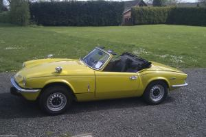 Triumph Spitfire: MOTed, Tax Exempt, VERY-WELL CARED FOR SINCE BODY-OFF REBUILD