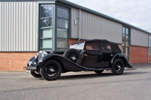 1938 MG SA Tourer Coachwork by Charlesworth very rare 4 door tourer