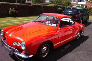 VW Karmann Ghia 1972 LHD Coupe 2 Door Excellent Condition