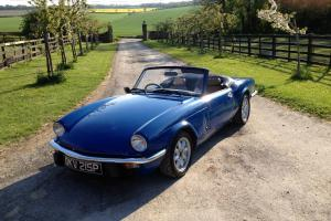 Triumph Spitfire 1500 twin carb (excellent condition) convertible
