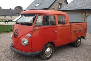 VW Splitscreen 1967 van. Rare volkswagon Crewcab model