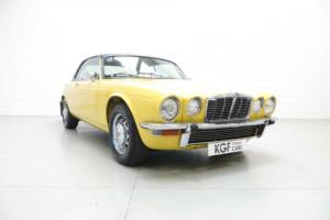 An Elegant Jaguar XJC 4.2 Series 2 Just 54,817 Miles and Full History from New Photo