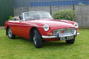 1972 MGB ROADSTER CALIFORNIA IMPORT - LOVELY CAR Photo