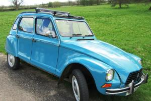 RARE DYANE (2CV) 'WEEKEND' LOVELY ORIGINAL CONDITION LAGUNE BLUE LOTS EXTRAS-