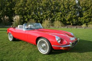 E Type Jaguar Convertible 1971 series 3 Photo
