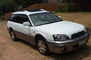 LOW KMS Subaru Outback H6 Luxury 2003 4D Wagon 4 SP Automatic in Torquay, VIC