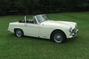 MG Midget Sprite 1969 Photo
