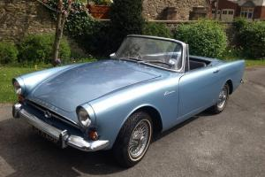 Sunbeam Alpine MK IV 1964 Metallic Silver Blue, Very Good Condition , 1 Year MOT