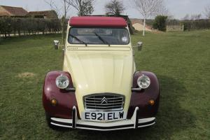 CITROEN 2CV 6 DOLLY, PLUMS AND CUSTARD. - LOVELY CONDITION.