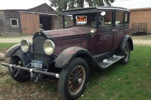 1929 Willys Knight Model 56 Touring