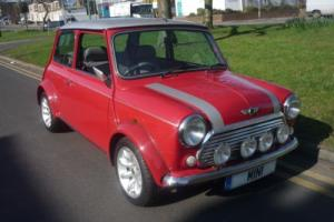 2001 Rover Mini Cooper Sport in Red and Platinum. Just 590 miles