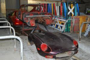 JAGUAR E-TYPE SERIES 3 V12 COUPE PROJECT 1971
