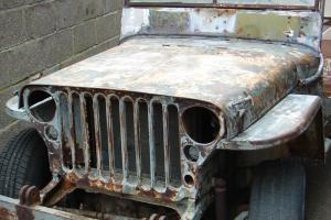willys jeep ford script 1943