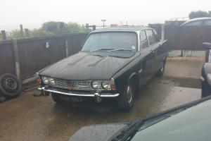 Rover P6, v8, Factory Black, fresh import, uk registered MOT'd, Tax'd