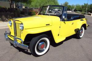 1948 Willys Jeepster Convertible - Rust Free - Beautifully Restored - Must See!!
