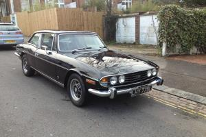 Recently restored Triumph Stag 3.0 V8 Manual in Masons Black