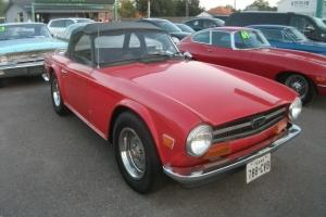 1973 tr6 texas no rust very original