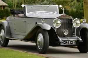 1930 Rolls Royce Phantom II 2 door convertible. Photo