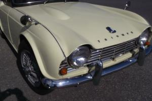 1964 TRIUMPH TR 4 GREAT DRIVER, very clean, lots or records Photo
