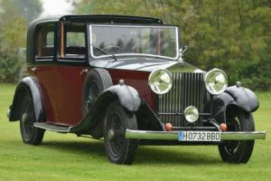 1933 Rolls Royce 20/25 H.J. Mulliner Sedanca. Photo