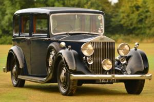 1937 Rolls Royce 25/30 Rippon Bros Limousine. Photo