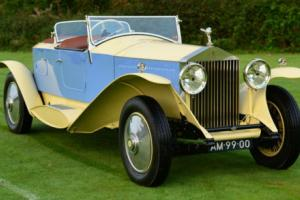 1929 Rolls Royce Phantom II Barker Maharajah Boat Tail Photo