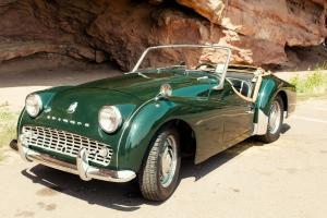 1959 TR3A beautiful looking, smooth running Driver Photo