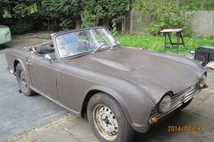 Triumph Tr4 1961 LHD For Restoration very low vin number Photo