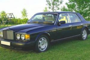 Bentley Turbo R / rolls royce Metallic Navy Blue, Virtually Showroom Condition Photo