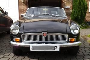 MGB Convertible black taxed mot'd Photo