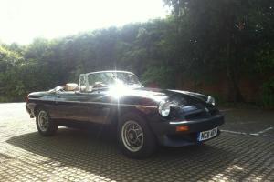 1984 MGB ROADSTER LE -LIMITED EDITION- RARE - MOT'd & TAXED - MINT CONDITION Photo
