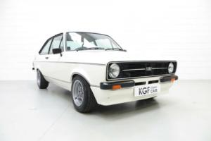 An Iconic, Very Rare Mk2 Ford Escort RS Mexico in Show Condition.