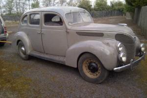 1938 CLASSIC FORD V8 FLATHEAD 81ASERIES RIGHT HAND DRIVE RESTORATION CAR PROJECT