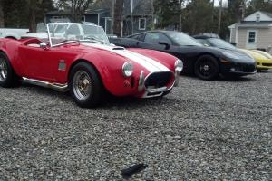 1966 AC COBRA 427 SIDE OILER FUEL INJECTED SHELL VALLEY KIT NR WINNER TAKES IT