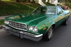 1973 Ford Ranchero only 25k Miles 351 Cleveland Motor