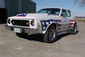 74 AMC GREMLIN X BF GOODRICH IMSA PACE CAR 8500 ORIGINAL MILES HOT ROD GASSER
