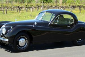 XK 120 FIXED-HEAD COUPE FCTRY BLACK #MATCH XK140  XK150