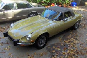 Jaguar E-Type Roadster 1974 XKE     NEW PRICE